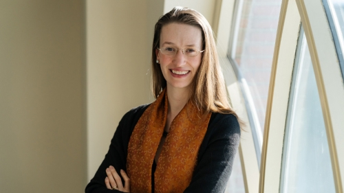 Assistant Professor Caroline Robertson and team research biomedical causes of autism.