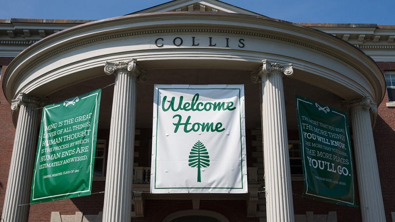 Collis welcome home