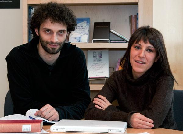 Christian Orsini and Valentina Martemucci