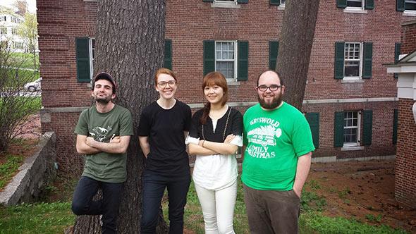 Graduate students in the Digital Musics Program