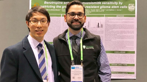 Damian Almiron Bonnin and his theseis research AACR