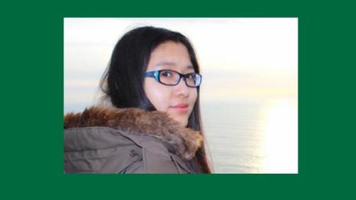alumni research awardee Ziyi Chai
