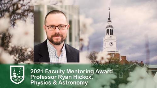 Ryan hickox faculty mentoring award