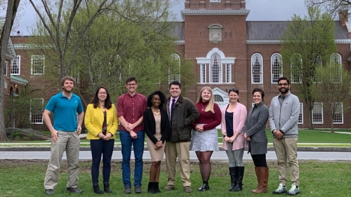 GSC Executive Officers on the Baker Library Lawn