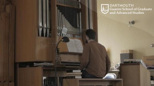 jack langdon plays organ