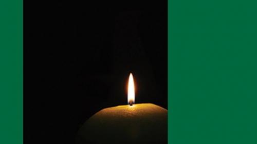 candle for MLK celebration 2018