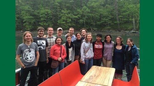 members of the george o'toole lab in MCB program