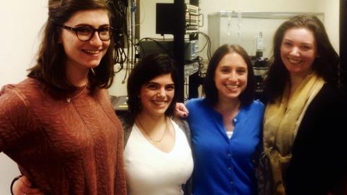PEMM successful women graduate students