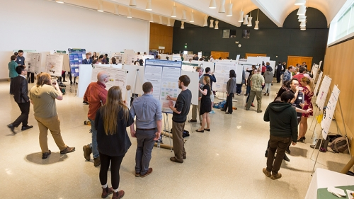 Graduate Poster Session Celebrates Excellence in Research