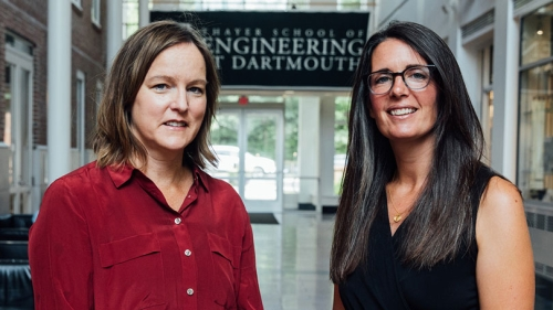 Professors Vicky May & Michele Tine