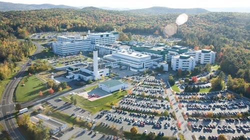 Geisel School of Medicine aerial shot
