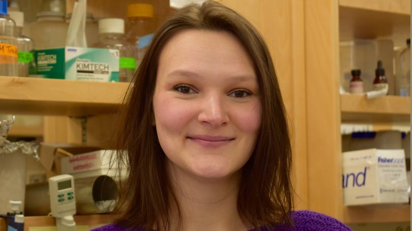 Caitlyn Hauke, Alumni Research Award Recipient