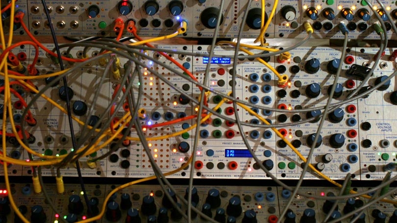 buchla synthesizer