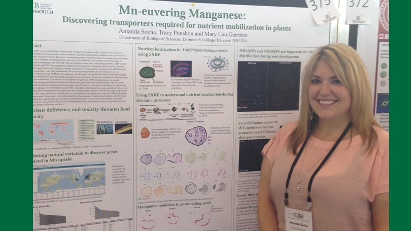 Graduate Alumni Research Award Recipient Amanda Socha