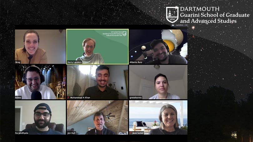 Guarini School Fellows meet on Zoom with the deans