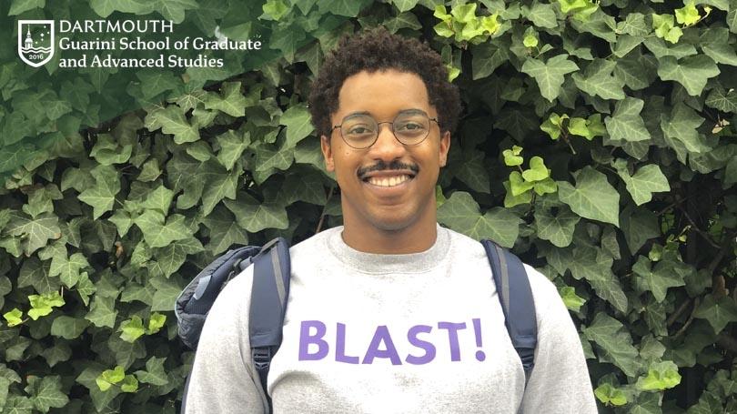 Jhamar Youngblood, MALS '20, founder of innovative app, Blast!