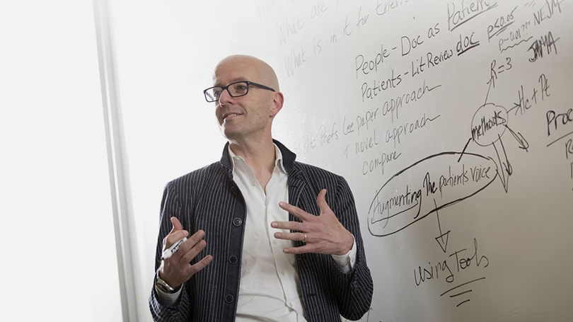Associate Professor Tim Lahey, director of education at The Dartmouth Institute